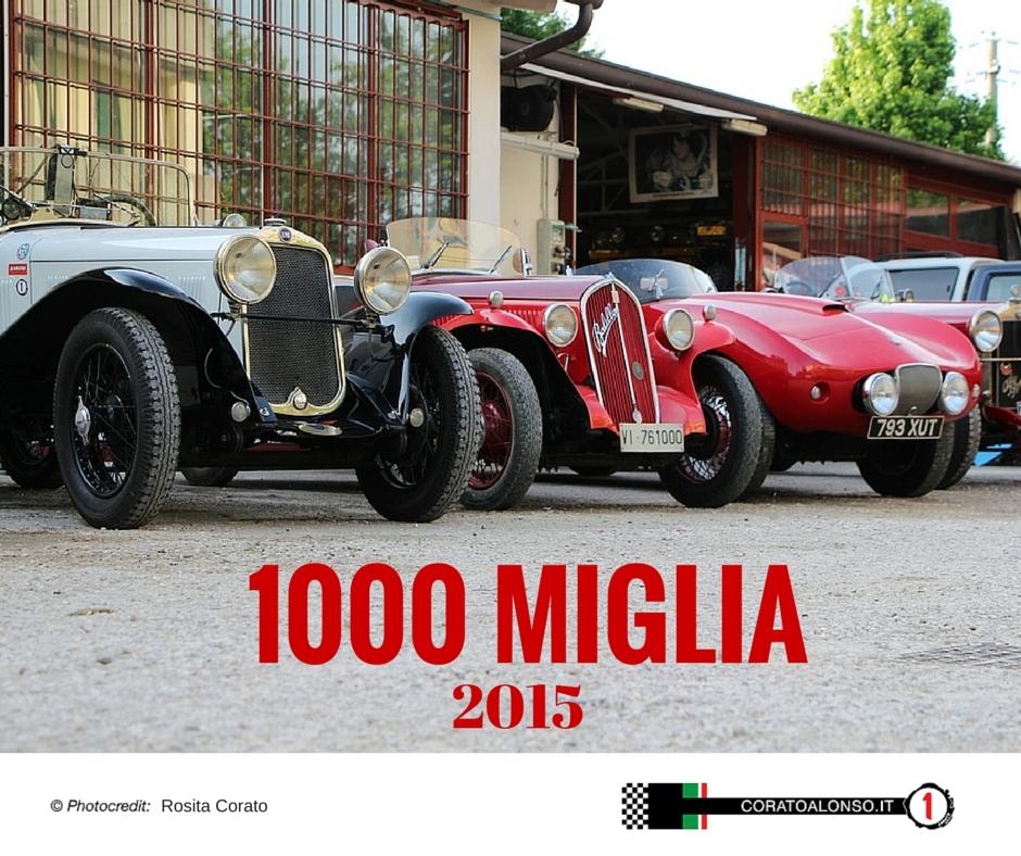 La Mille Miglia 2015 Passa Per Vicenza Corato Alonso
