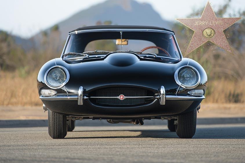 "Venduta la ""monumentale"" 1961 Jaguar E-type di Jerry Lewis ..."