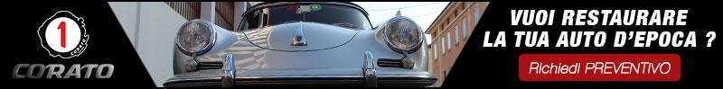 Vuoi restaurare la tua auto d'epoca ? Richiedi Preventivo