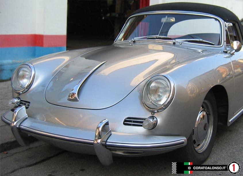 Porsche 356 SC Cabriolet 1965 Grigio Delfino