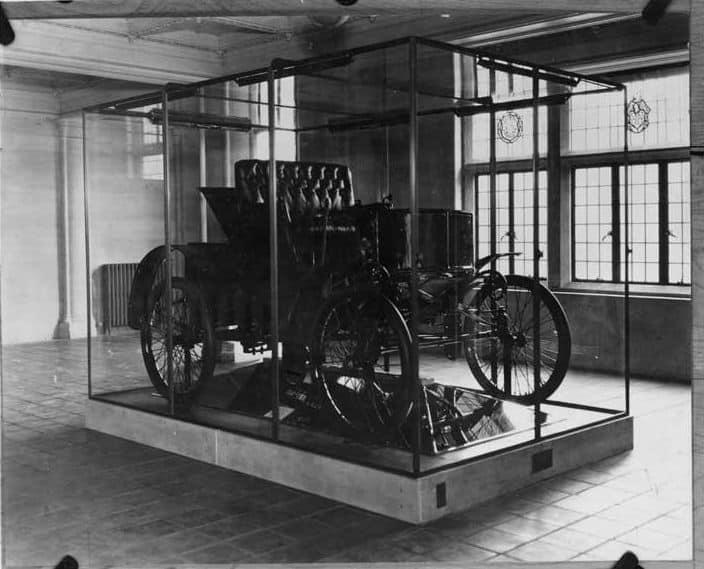 1899 Packard n 1: risvegliata dopo 85 anni di letargo