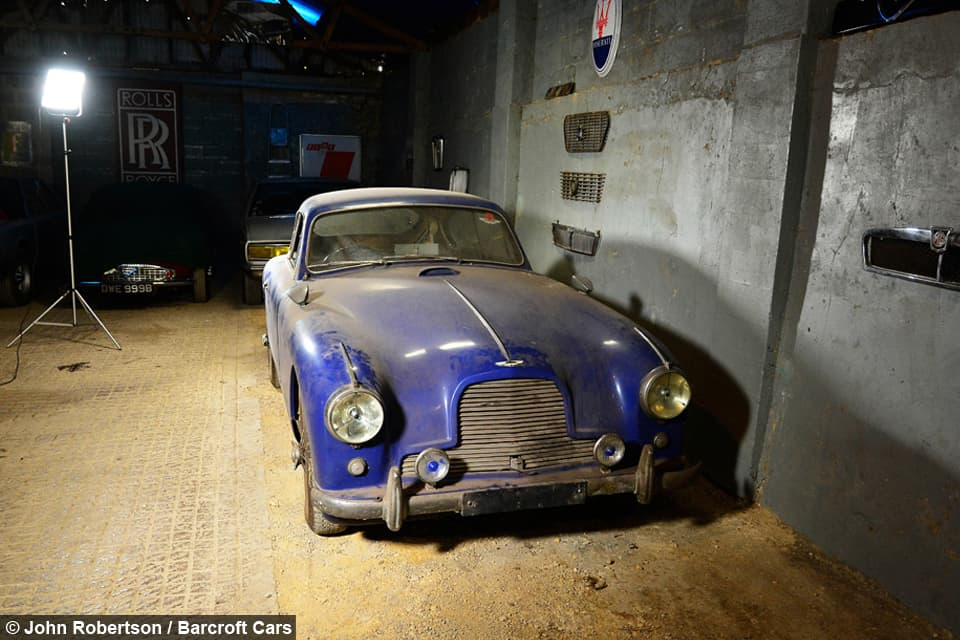 Aston Martin DB2/4 del 1955: ritorna alla luce dopo 50 anni!