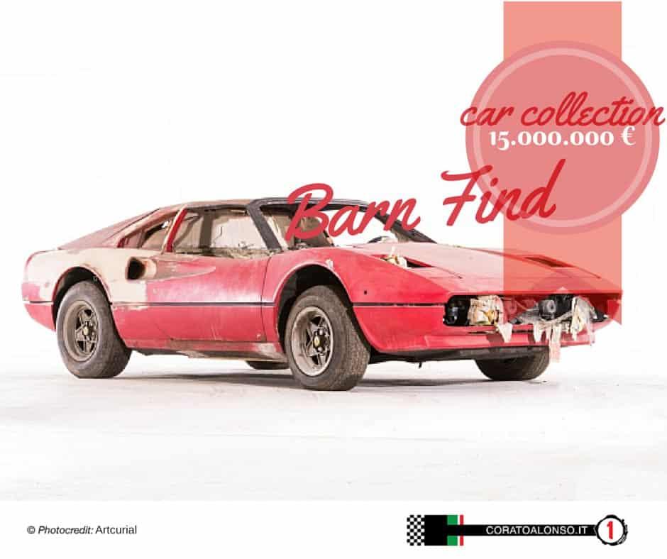 Barn Find Car Collection: una collezione da 15.000.000 di Euro
