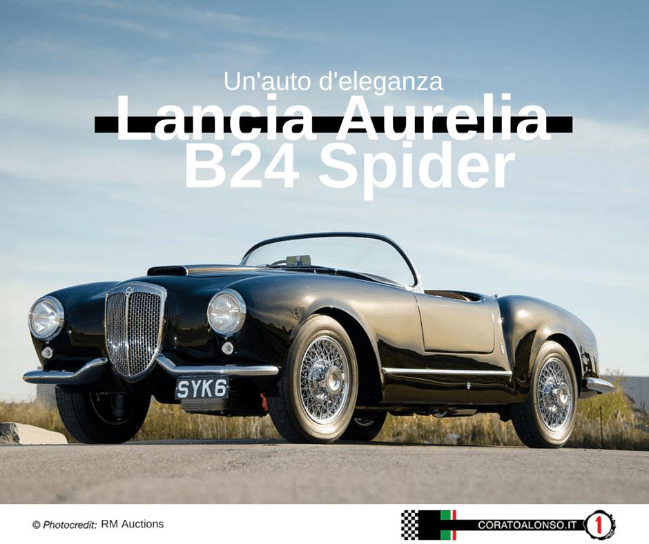 Lancia Aurelia B24 Spider: un'auto d'eleganza!