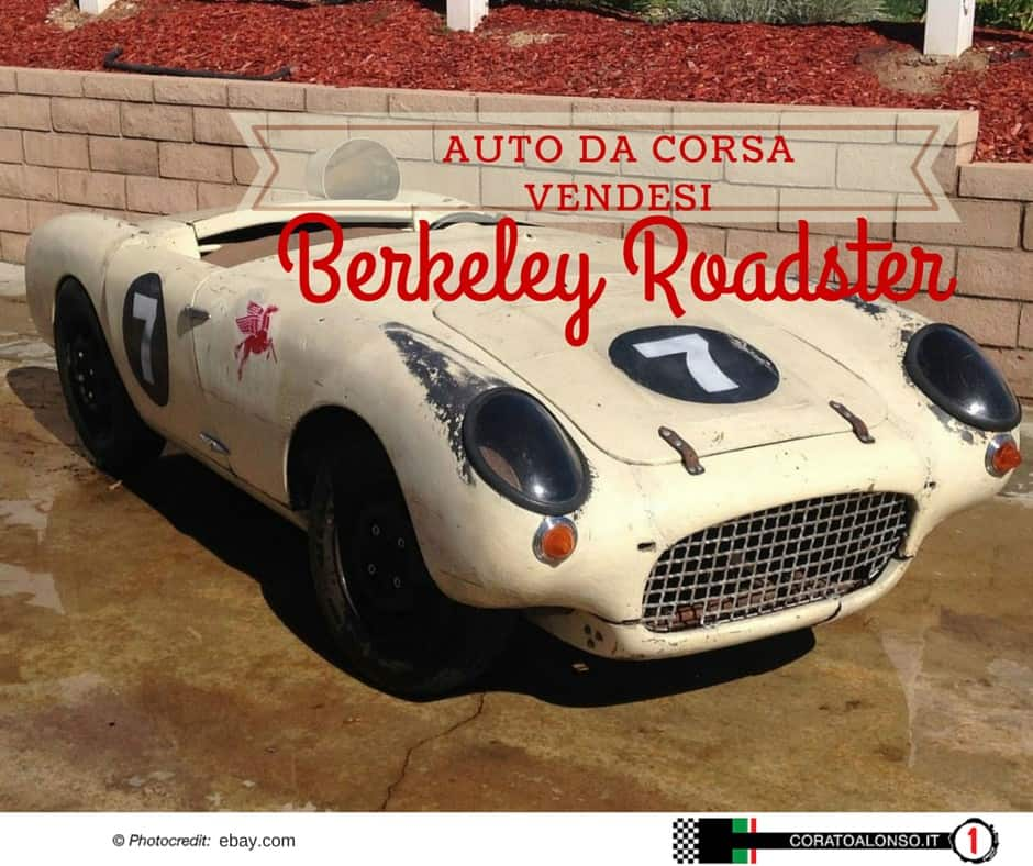 Berkeley Roadster SE328: Auto da corsa in vendita