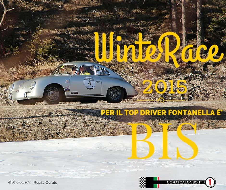 WinteRace 2015: Bis del top driver Fontanella!