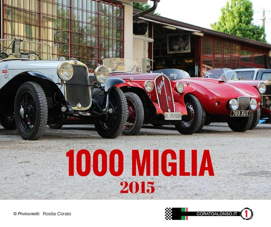 La Mille Miglia 2015 passa per Vicenza?