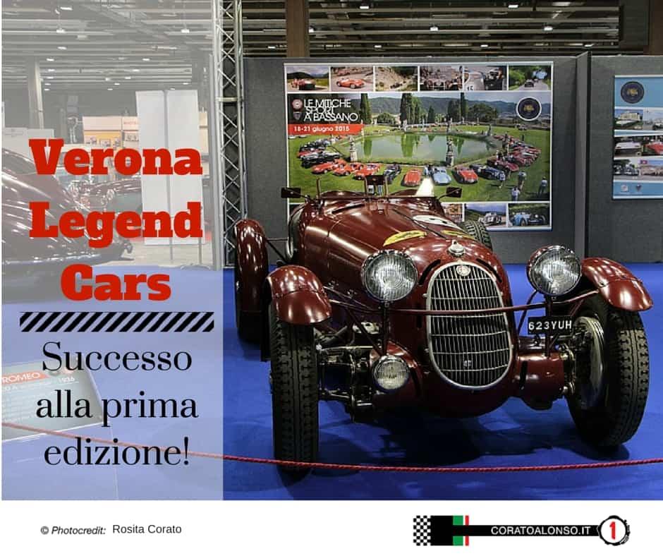 Verona Legend Cars 2015: Le auto classiche non deludono mai gli appassionati