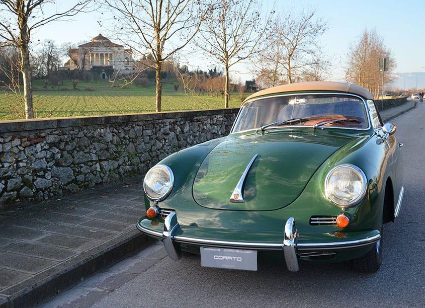 Porsche 356 C Cabriolet 1964 Verde Irlanda