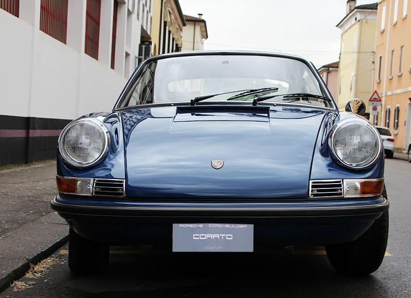 Porsche 911S Coupé Ossi Blu