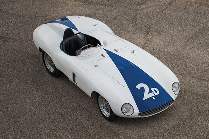Ferrari 750 Monza Spider: una perfetta conservata all'asta