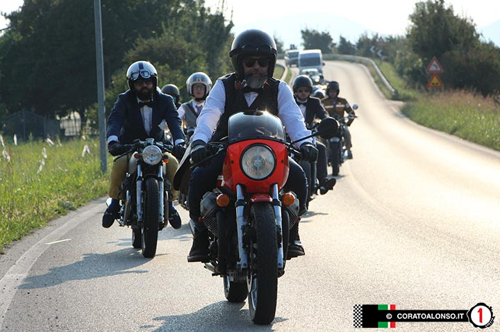 Motociclisti! Al Distinguished Gentleman's Ride 2016 di Vicenza è record