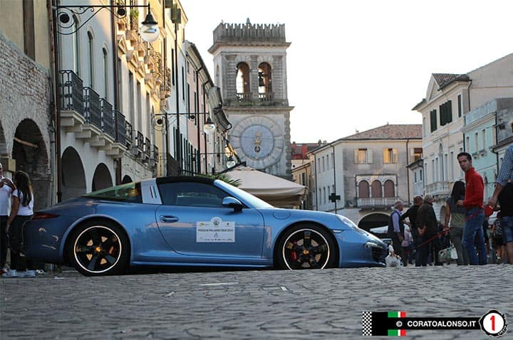 Porsche Palladio Tour 2016 sportive d'élite