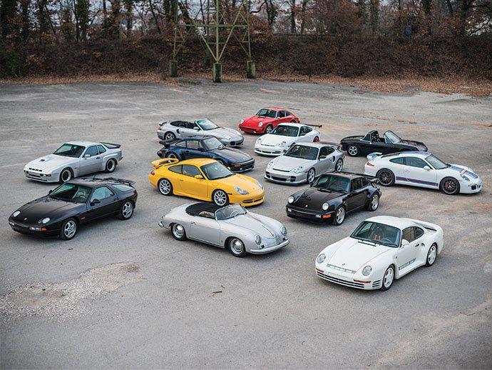 Incredibile asta tutta Porsche: 26 esemplari che raccontano la storia del brand