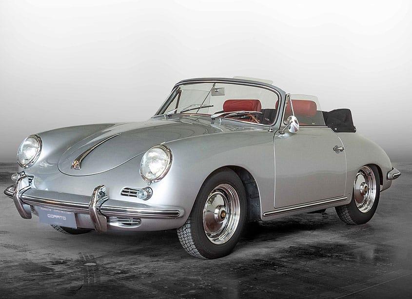Porsche 356 BT5 cabrio 1961