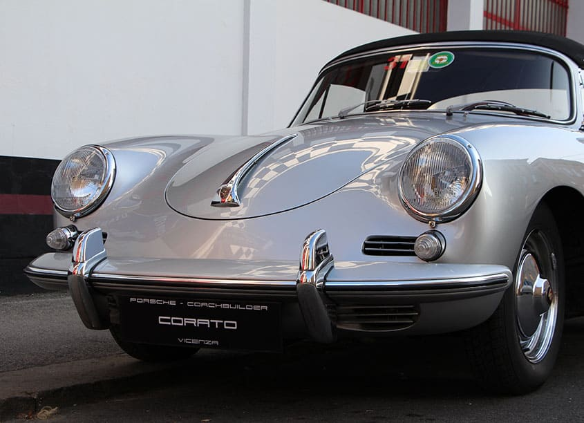 Porsche 356 BT5 cabriolet 1960
