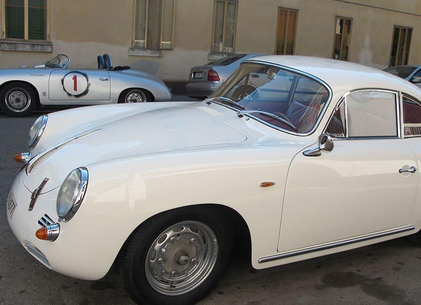 Porsche 356 BT6 coupè 196 avoire