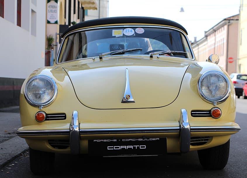 PORSCHE 356 C 1964 giallino