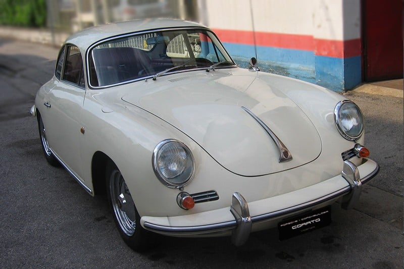 1962 Porsche 356 BT6 coupè ivory