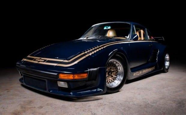 La sorpresa su eBay: Porsche 911 Turbo di Mario Andretti in vendita online