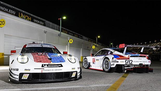 Livrea Brumos per le Porsche 911 RSR a Daytona e Sebring [VIDEO]