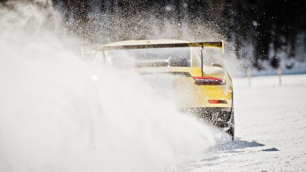 Le leggende del Motorsport Porsche alla Ice Race