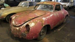 Scocca Porsche 356 da restaurare in vendita: può partecipare alla Mille Miglia?