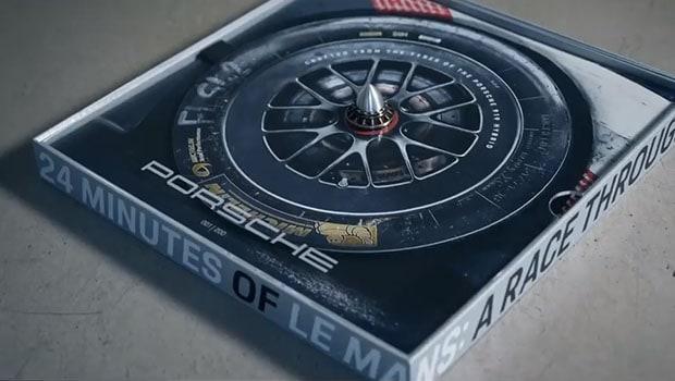 Gli pneumatici dell'ultima Porsche che gareggiò a Le Mans diventano un vinile