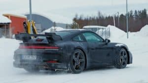 "Porsche 992 GT3: le prime foto ""rubate"" 
