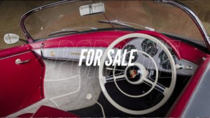 Porsche for sale: 356 Speedster, una rarità con la guida a destra