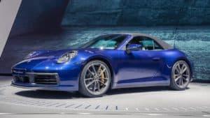 Tre nuove Porsche al Salone di Ginevra, attesa per la nuova 911 Cabrio