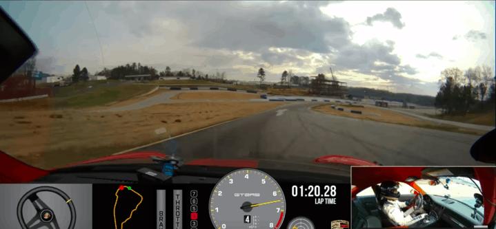 A bordo della Porsche 911 GT2 RS: un giro di pista da record, a tutta velocità | VIDEO