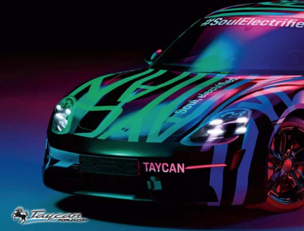 Taycan, nuove immagini della prima auto elettrica Porsche [FOTO]