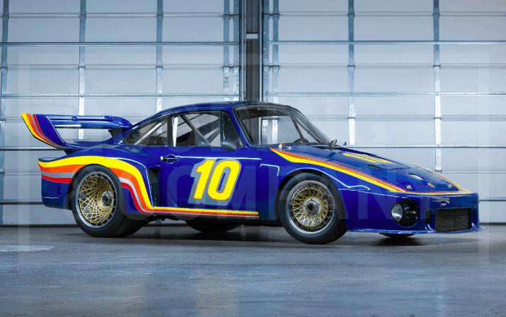 Sunoco Porsche 935 all'asta: il suo valore tra i 2,5 e i 3 milioni di euro