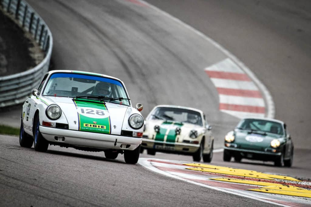 Porsche in pista al Monza Historic 2019